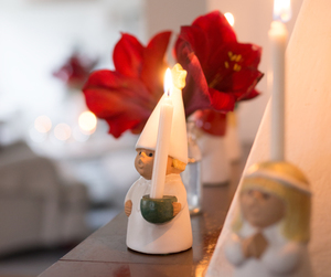 advent, angel, and flower image