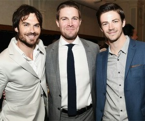 arrow, Vampire Diaries, and the flash image