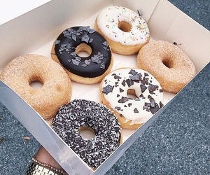 food, beautiful, and donuts image