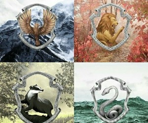 harry potter, ravenclaw, and slytherin image