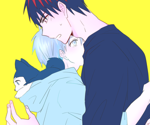 otp, kuroko, and kuroko no basket image