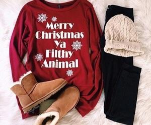 christmas, fashion, and winter image