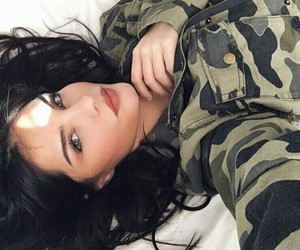 girl, hair, and military image