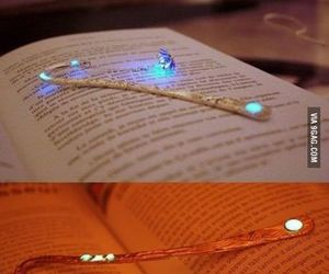 books, bookmarks, and reading image