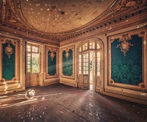 vintage, abandoned, and room image