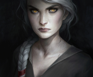 art, fantasy, and throne of glass image