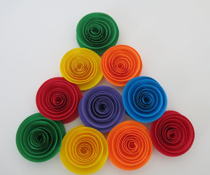paper flowers, party decorations, and wedding decoration image