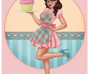 Pin Up and pinup image