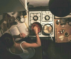 food, cook, and kitchen image