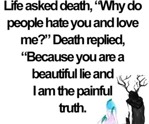 beautiful, death, and lies image