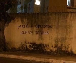 brasil, grafite, and machismo image