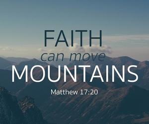 scripture, bible verses, and mountains image