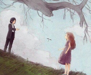 severus snape and lily evans image