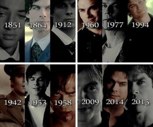 tvd, damon, and ian somerhalder image