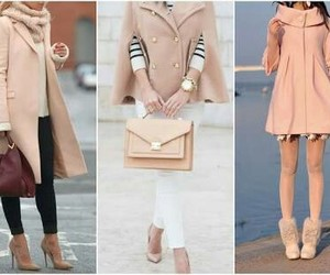 winter collection, woolen coats, and peach coats image