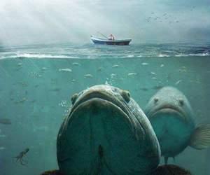 deep, ocean, and monsters image