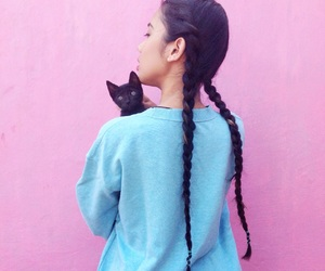 aesthetic, cat, and kitty image