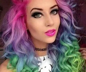 amy, style, and colerful image