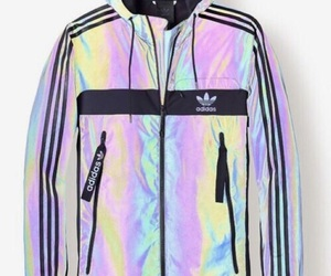adidas, fashion, and holographic image