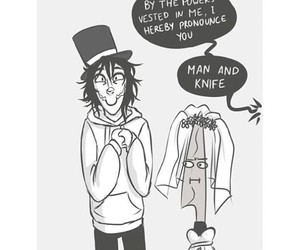 funny, knife, and lol image
