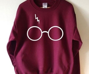 harry potter, sweatshirt, and harrypotter image