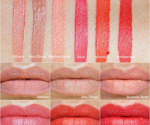lipstick, makeup, and review image