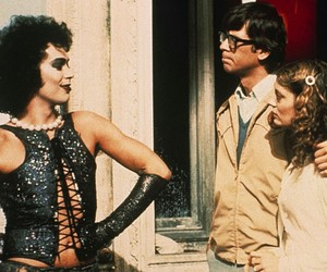 rocky horror picture show, Tim Curry, and susan sarandon image