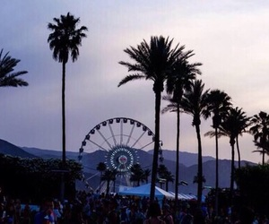 coachella, california, and ferris wheel image
