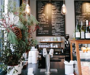 cafe, christmas, and coffee image