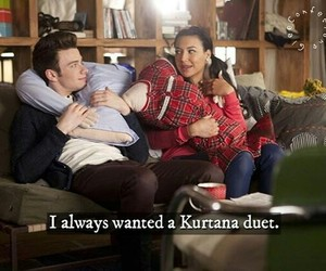 duet, glee, and santana lopez image