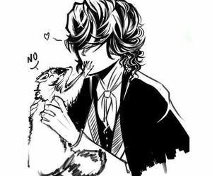 edgar allan poe and bungou stray dogs image