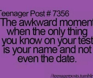 teenager post, funny, and awkward image