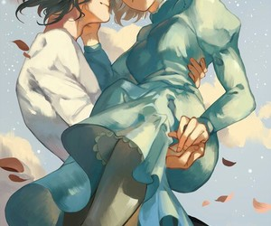 howl's moving castle, studio ghibli, and Howl image