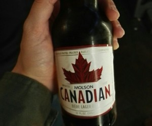beer and canadian image
