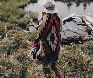 fashion, look, and nature image