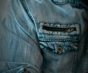 blue, muscular guy, and denim image