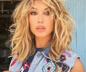 hailey baldwin, model, and blonde image