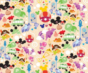 background, disney, and pattern image