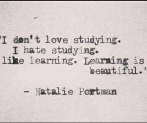 quotes, learning, and natalie portman image