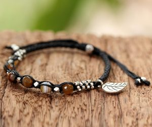 bracelet, handmade, and gifts image