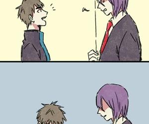 anime, free hug, and kuroko no basket image