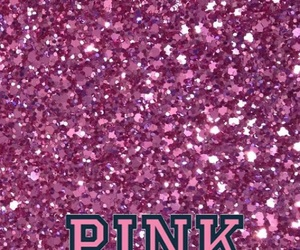 glitter, pink, and victoria secret image