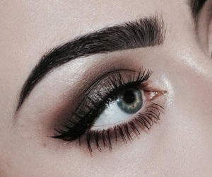 beautiful, style, and eyebrows image