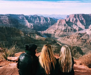 adventure, best friends, and grand canyon image