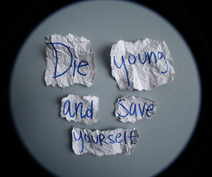 die young image