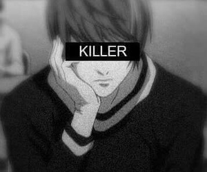 death note, killer, and kira image