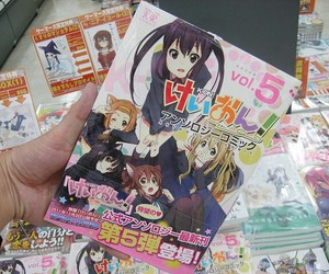 k-on and manga image
