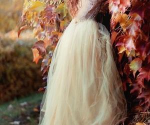 autumn, beautiful, and bridal image