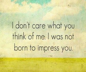 born, Impress, and care image