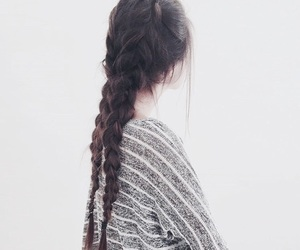 hair, styles, and love image
